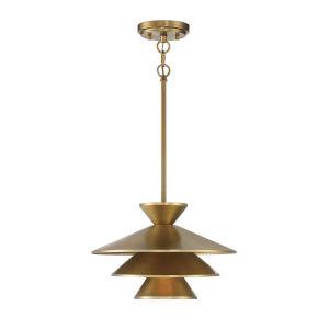 Essex Natural Brass One-Light Pendant
