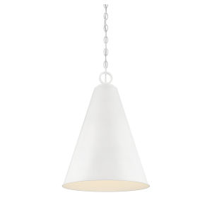 Kate White One-Light Pendant