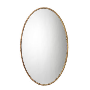 Natural Seagrass Sparrow Braided Oval Mirror