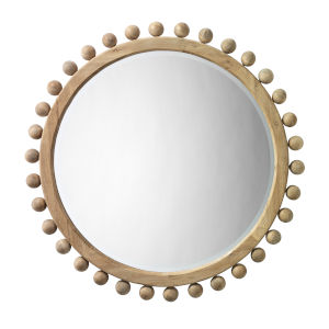Natural Wood Brighton Mirror
