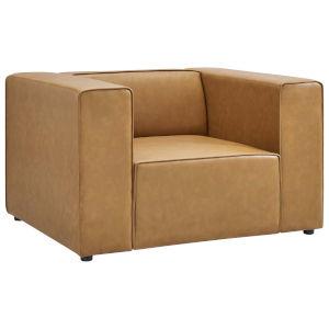Vivian Tan Vegan Leather Armchair