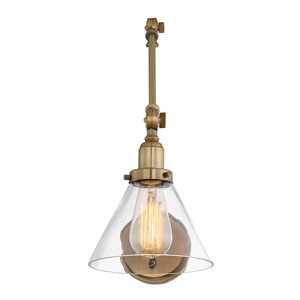 Fulton Brass One-Light Wall Sconce