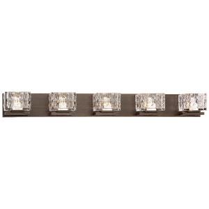 Cooper Metallic Bronze 38-Inch LED Bath Light
