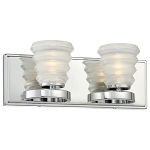 Selby Chrome 15-Inch LED Bath Vanity Light