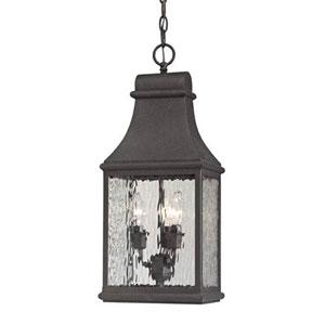 Kenwood Charcoal Three Light Outdoor Pendant