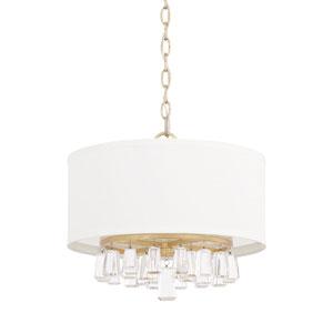 Cooper Gold 15-Inch Four-Light Pendant