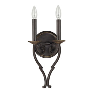 Wellington Surrey Two-Light Wall Sconce