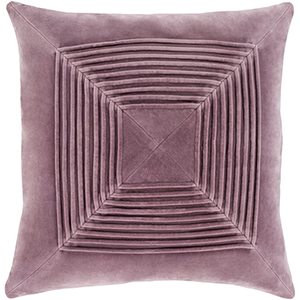 Monroe Mauve 22 In. Throw Pillow