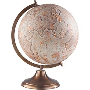 Afton Camel and Light Gray Globe