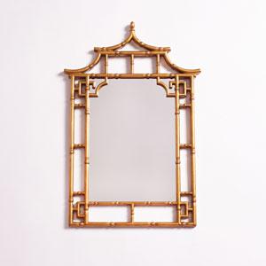 Camden Gold Pagoda Mirror