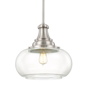 Selby Brushed Nickel One-Light Pendant