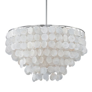 Nicollet Capiz Shell Six-Light Pendant