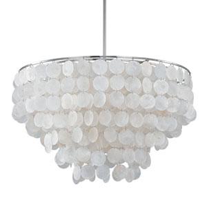 Nicollet Capiz Shell Six-Light Pendant