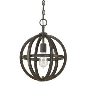 Fulton Brushed Espresso One-Light Pendant