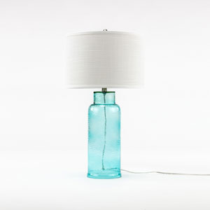 Linden Aqua One-Light Table Lamp
