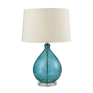Selby Teal One-Light Table Lamp