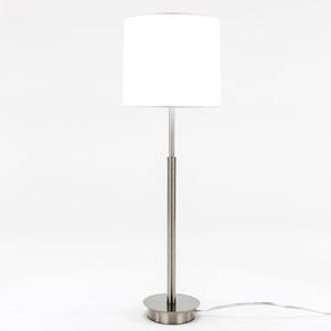 Loring Satin Nickel One-Light Floor Lamp