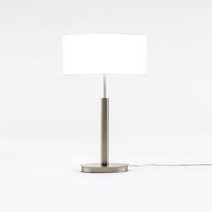 Loring Satin Nickel One-Light Table Lamp