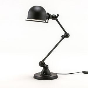Afton Bronze One-Light Desk Lamp