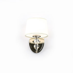 Isles Polished Nickel One-Light Wall Sconce