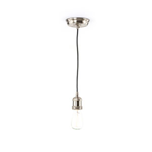 Nicollet Satin Nickel One-Light Mini Pendant