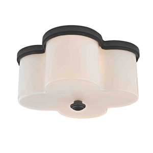 Evelyn Old Bronze Two-Light Flush Mount