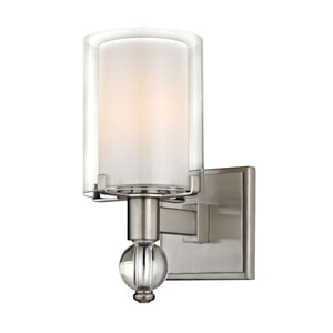 Cooper Satin Nickel One-Light Wall Sconce