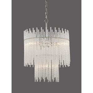 Vivian Polished Chrome Four-Light Pendant