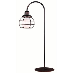 Afton Oil Rubbed Bronze One-Light Table Lamp