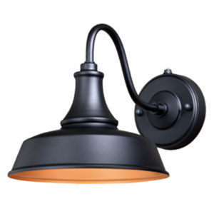 Knox Dark Bronze Nine-Inch One-Light Outdoor Wall Mount