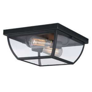 Bryant Oil Burnished Bronze Two-Light Outdoor Flush Mount