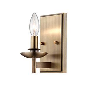 Ava Bronze One-Light Wall Sconce