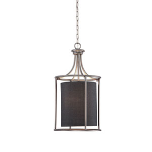 Lyndale Brushed Pewter Two-Light Pendant
