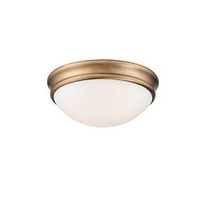 Kenwood Bronze One-Light Flush Mount