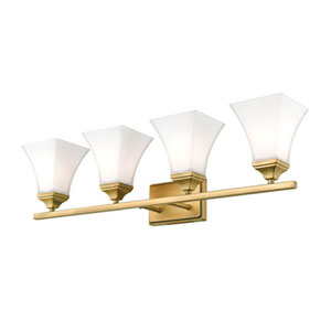 Bryant Bronze Four-Light Bath Vanity