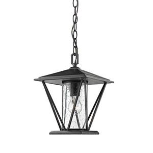 Artemis Powder Coat Black One-Light Outdoor Pendant