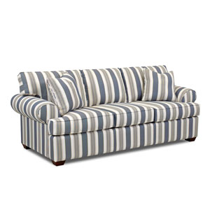 Quinn Striped Sofa