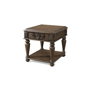 Aster Brown End Table
