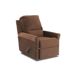 Aster Rocking Reclining Chair Dark Brown