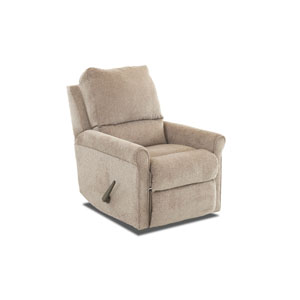 Aster Rocking Reclining Chair Pewter