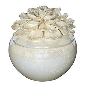 Moonshine Cream Seven-Inch Decorative Jar