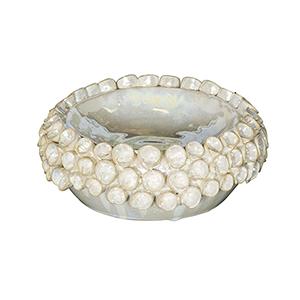Moonshine Cream Decorative Plate