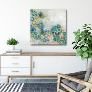 The Wide Waters 16 In. x 16 In. Gallery Wrapped Canvas