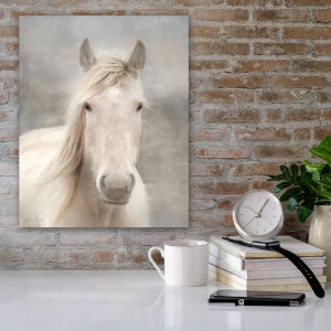 White Beauty I 30 In. x 40 In. Gallery Wrapped Canvas