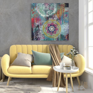 Star Rondure 16 In. x 16 In. Gallery Wrapped Canvas
