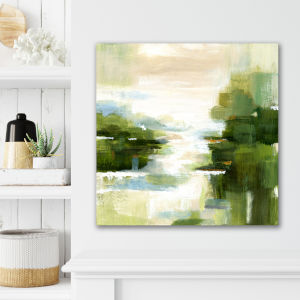 Verte View 16 In. x 16 In. Gallery Wrapped Canvas