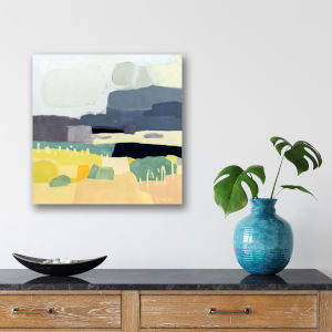 Desert Afternoon 16 In. x 16 In. Gallery Wrapped Canvas