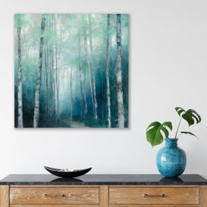 To the Woods 16 In. x 16 In. Gallery Wrapped Canvas
