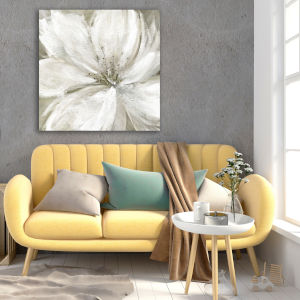 Rainy Day Soft 30 In. x 30 In. Gallery Wrapped Canvas