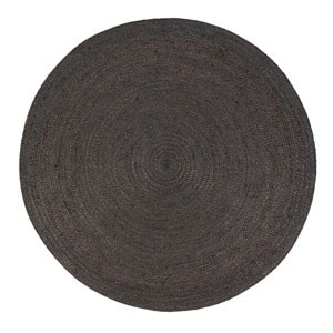 Anji Mountain Bamboo Rugs Kerala Sunrise Jute Round 4 Ft